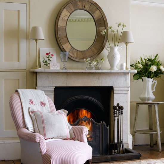 Elegant country living room | Living room decorating ideas | Chairs | Image | Housetohome