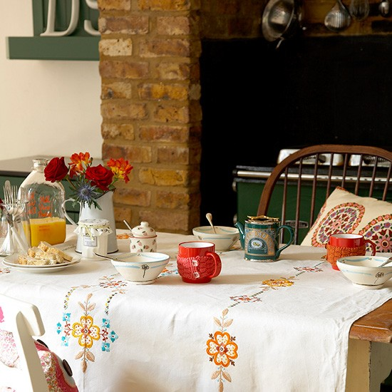 Country kitchen-diner | Kitchen-diner decorating ideas | Tables | Image | Housetohome