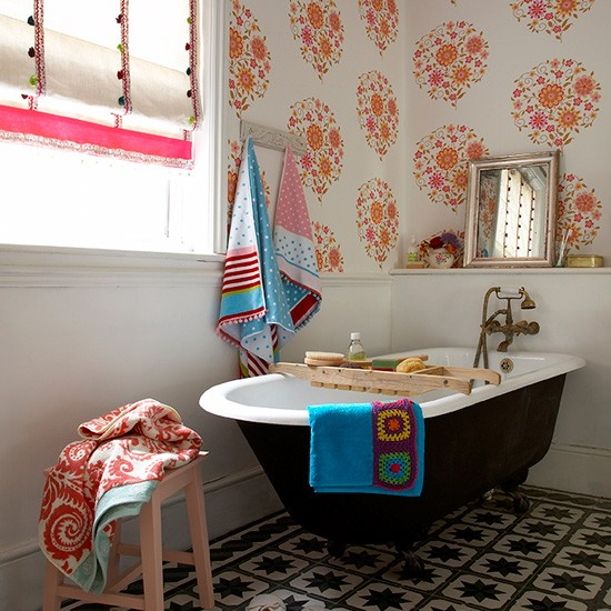 eclectic bathroom bathroom decorating ideas baths