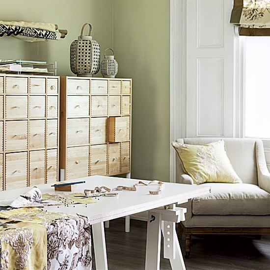 Home office and craft room | Office storage | Crafts | Image | Housetohome