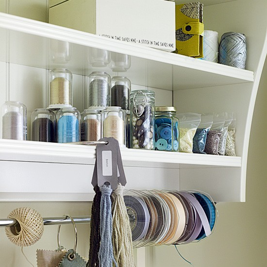 home office shelving system storage solutions crafts image