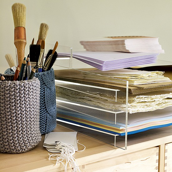Home office stationery storage | Letter racks | Crafts | Image | Housetohome