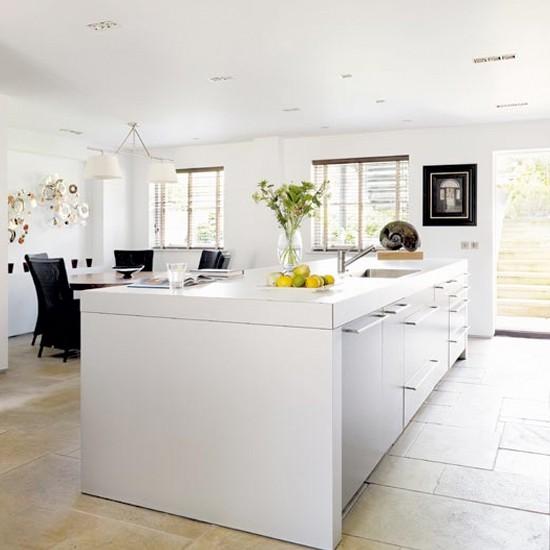 Basement kitchen-diner | Kitchen Ideas | Dining room decorating