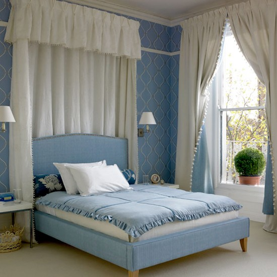 traditional blue bedroom blue decorating ideas bedroom images