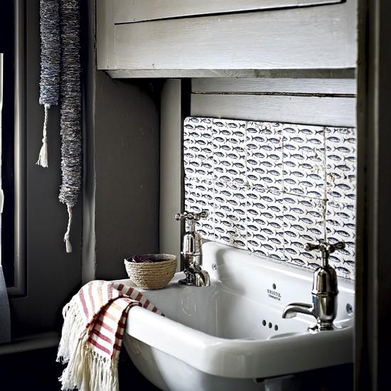 Rustic utility room sink | Laundry room designs | Bathroom sinks | Image | Housetohome