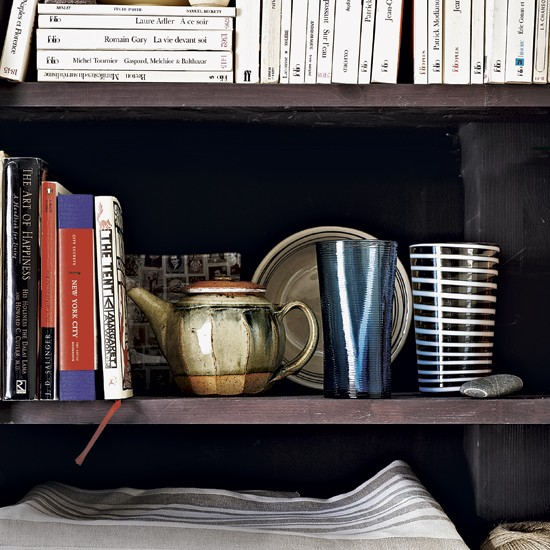 Dining room bookcase display | Dining room storage | Bookcases | Image | Housetohome