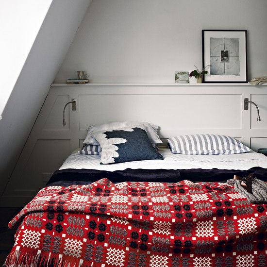 Modern folk bedroom | Bedroom designs | Throws | Image | Housetohome