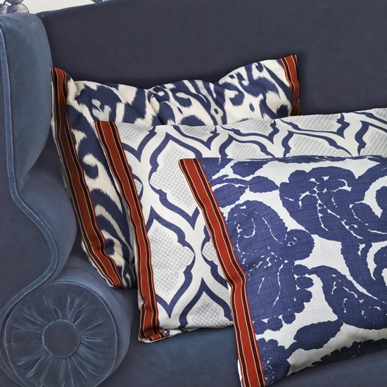 Bold patterned living room cushions | Living room accessories | Cushions | Image | Housetohome