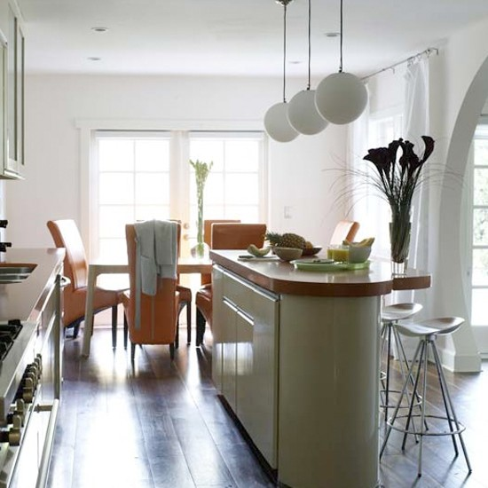 Bright White Kitchen Diner Kitchen Ideas Dining Room