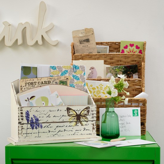 Home office letter racks | Home office storage | Office racks | Image | Housetohome
