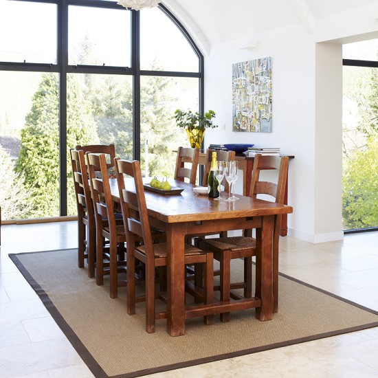 Light dining room   Dining room designs   Wooden dining tables   Image   Housetohome