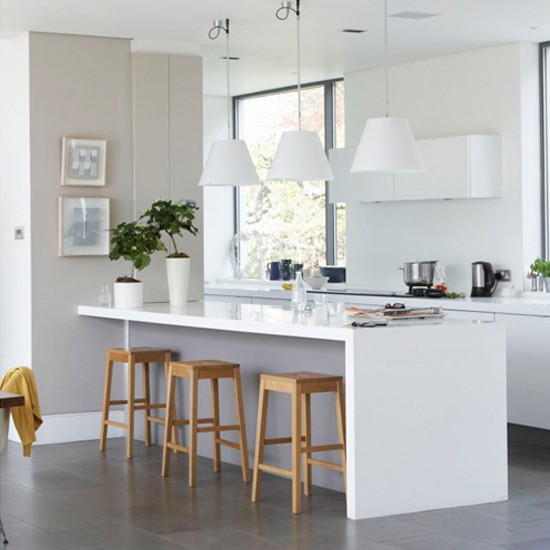 Simple modern kitchen | Open-plan | Kitchen ideas
