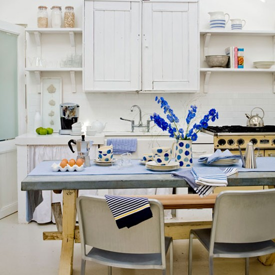 Modern Country Kitchen-diner