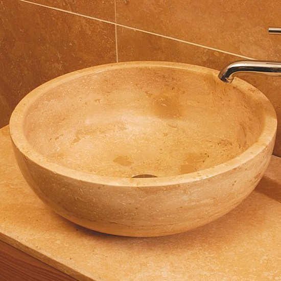 Stone Bowl Basin : Small style 5 stone bowl basin from Stonewood Bathroom basins ...