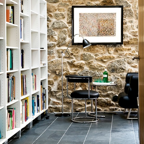 Living room with floor-to-ceiling storage | Storage solutions | Living room designs | Image | Housetohome