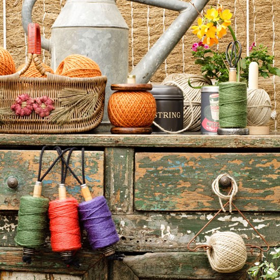 Bobbins and twine | Country garden design | Garden buys | Garden | PHOTO GALLERY | Housetohome