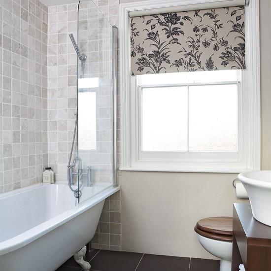 Chic bathroom | Bathroom designs | Bathroom flooring | Image | Housetohome