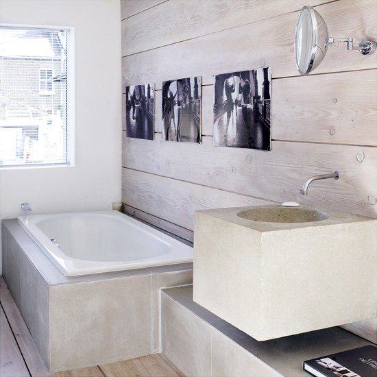 Rustic bathroom | Bathroom designs | Basins | Image | Housetohome