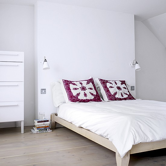 Minimalist white bedroom | Bedroom decorating ideas | Beds | Image | Housetohome