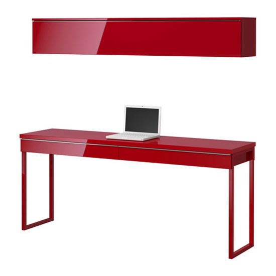 BESTÅ BURS desk and floating shelf from IKEA | Desks - 19 of the best