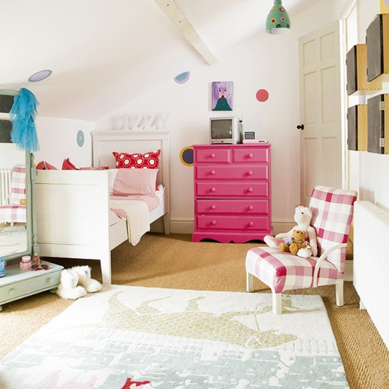 Girl's attic bedroom | Children's rooms - best of 2010 | Children's bedrooms | PHOTO GALLERY