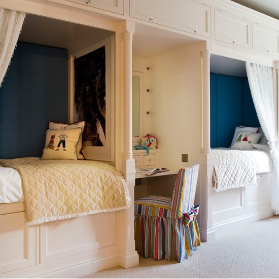 Unisex children's twin bedroom | Children's rooms - best of 2010 | Children's bedrooms | PHOTO GALLERY