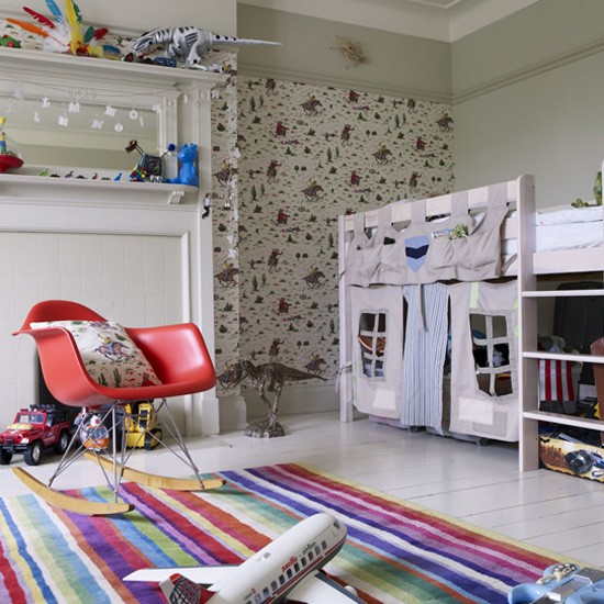 Children's eclectic bedroom and playroom | Children's rooms - best of 2010 | Children's bedrooms | PHOTO GALLERY