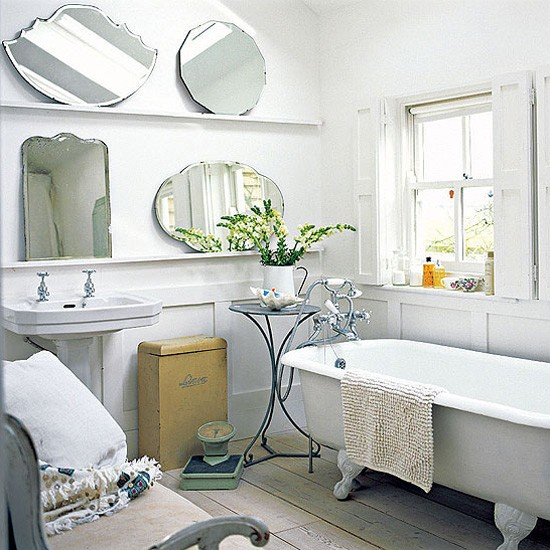 Bathroom decorating ideas to inspire you bathroom design for Vintage bathroom ideas uk