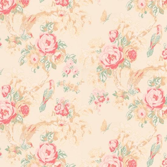 Country floral wallpaper | Bird wallpapers | Wallpaper | Wallpaper ...