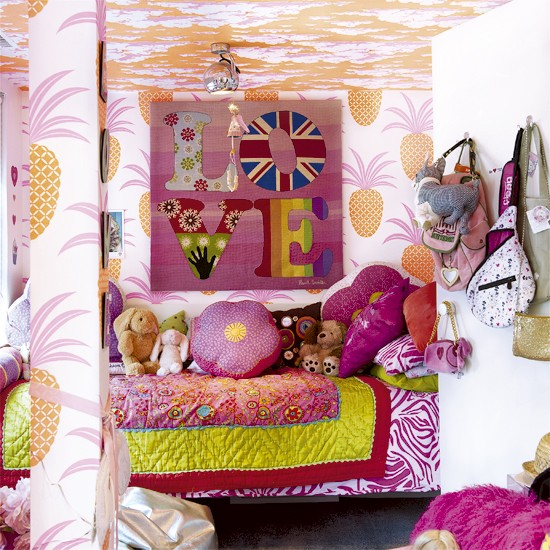 Pop art-inspired children's bedroom | Modern kids rooms - 10 ideas | Children's bedroom decorating ideas | PHOTO GALLERY | Housetohome