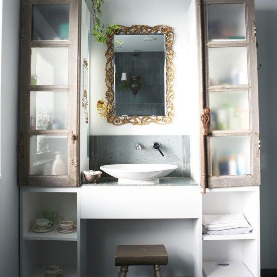 Bathroom storage | Traditional bathrooms | Storage | Image | Housetohome