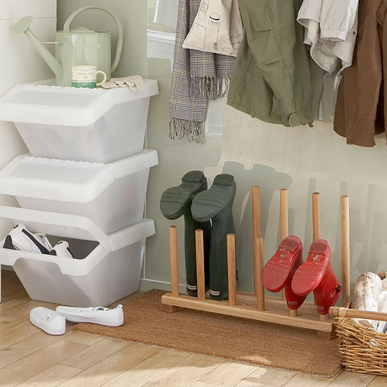 Shoe Storage Solutions Boot Room Storage Ideas 5 Steps