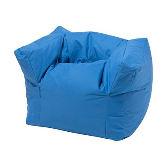 Armchair bean bag from feather black children 39 s for Children s armchairs 10 of the best