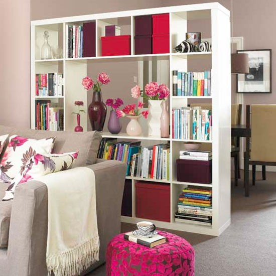 Open-shelving storage unit | Room dividers | Open-plan spaces | Layout design | Layout | Storage | PHOTO GALLERY | Housetohome