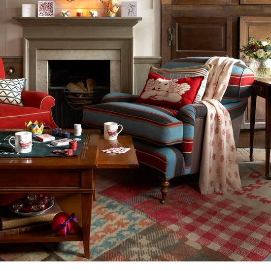 Warm living room | Living room furniture | Armchairs | Image | Housetohome
