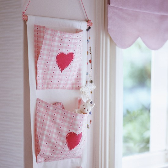 Be smart with wall space | Hanging cloth storage pockets | Children's room storage ideas | Funky children's storage ideas | PHOTO GALLERY