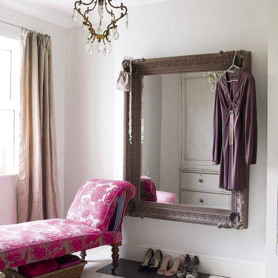 Glamorous bedroom boudoir dressing area for Dressing area in bedroom