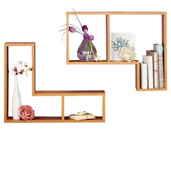 l shaped cube shelves from homebase floating shelves. Black Bedroom Furniture Sets. Home Design Ideas