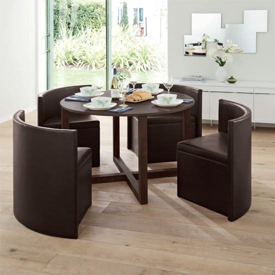 Hideaway dining set from next kitchen tables 10 of the for Kitchen table and stools