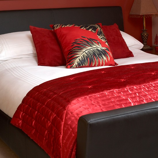 choose silk and satin bedsheets how to create a romantic