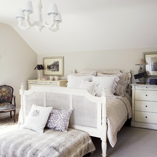 White French Style Bedroom Bedroom Decorating French Bed Image