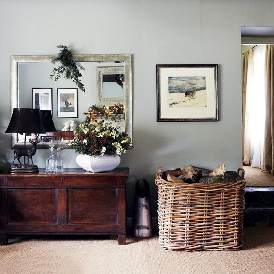 Soft grey hallway | Classic hallway | Hallway storage | Image | Housetohome