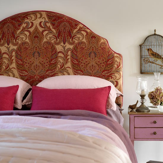 Cosy exotic bedroom | Country bedroom | Headboard | Image | Housetohome