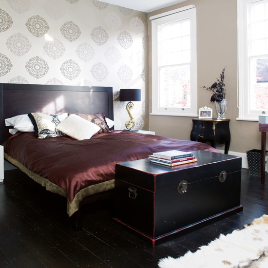 Bedroom boho chic victorian terrace house tour ideal for Bedroom ideas victorian terrace