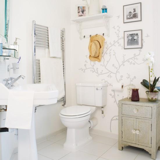 Bathroom boho chic victorian terrace house tour for Victorian terrace bathroom ideas