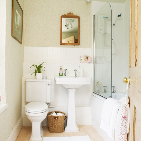 Bathroom Traditional Cottage House Tour Ideal Home Housetohome