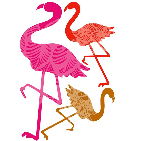 Flamingos Wall Stickers From B Q Kitchen Tile Decals 10 Of The Best