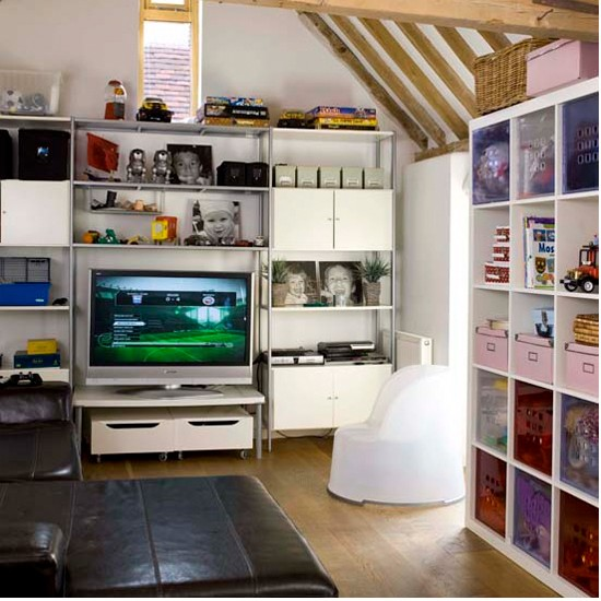 Games room | 18th century barn | House tour | Ideal Home | PHOTO GALLERY