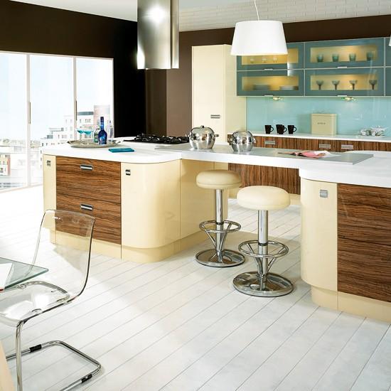 Vanilla Gloss And Olivewood Kitchen From Kitchen Stori