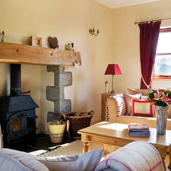 Living Room Country Cottage House Tour Ideal Home